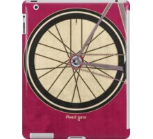 Single Speed Bicycle iPad Case/Skin