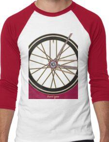 Single Speed Bicycle Men's Baseball ¾ T-Shirt