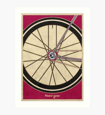 Single Speed Bicycle Art Print