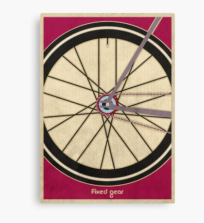 Single Speed Bicycle Canvas Print