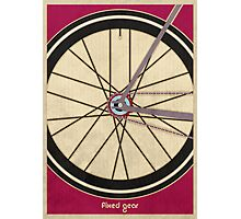 Single Speed Bicycle Photographic Print