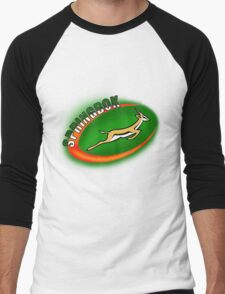 SPRINGBOK RUGBY SOUTH AFRICA Men's Baseball ¾ T-Shirt