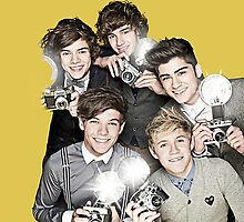 Photographer One Direction by gleviosa