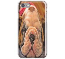 Sleeping puppy iPhone Case/Skin