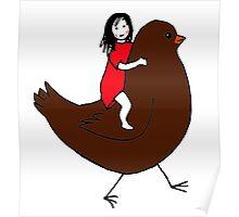 Bird Girl Poster