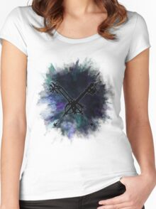 Oblivion and Oathkeeper  Women's Fitted Scoop T-Shirt