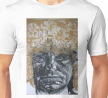 Portrait of Brett Whiteley Unisex T-Shirt