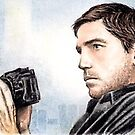 Jim Caviezel miniature by wu-wei