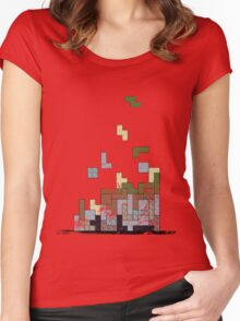 MineTetris Women's Fitted Scoop T-Shirt