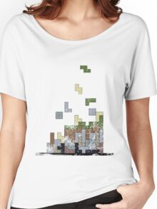 MineTetris Women's Relaxed Fit T-Shirt