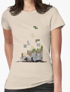 MineTetris Womens Fitted T-Shirt