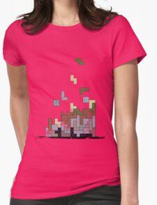 MineTetris Womens Fitted T-Shirt