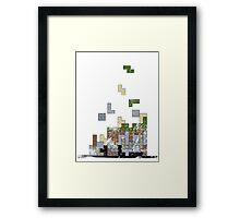 MineTetris Framed Print