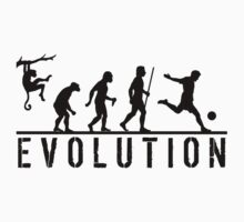Soccer Evolution by movieshirtguy