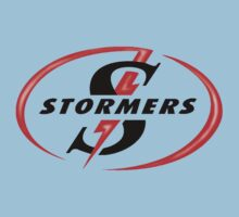 STORMERS SOUTH AFRICA RUGBY WP PROVINCE SUPER 15 RUGBY One Piece - Short Sleeve