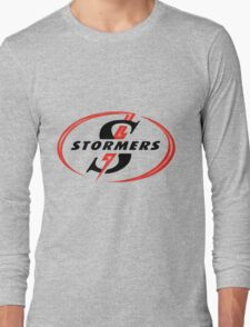 STORMERS SOUTH AFRICA RUGBY WP PROVINCE SUPER 15 RUGBY Long Sleeve T-Shirt