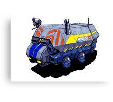 ROBOTIK TRUCK Canvas Print