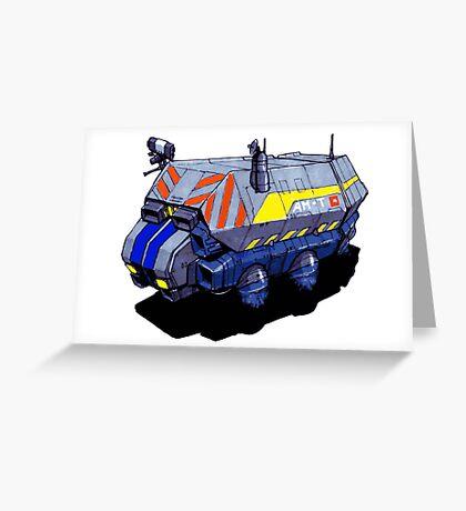 ROBOTIK TRUCK Greeting Card