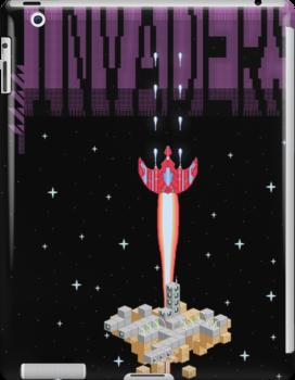 Pixel Invaders by MezzMerritt