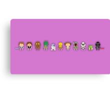 Star wars Pixel Canvas Print