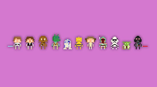 Star wars Pixel by MezzMerritt