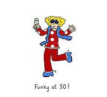 Funky at 50. Photographic Print