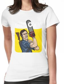 Evil Dead - We Can Do It parody Womens Fitted T-Shirt