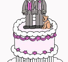 Two grooms and a cake. by KateTaylor