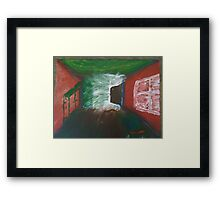 Door to another reality Framed Print