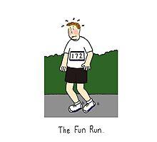 The fun run. Photographic Print