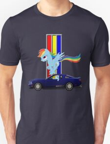 Mustang Rainbow Dash  T-Shirt