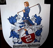 Coat of Arms (painting) by Noah Heyman