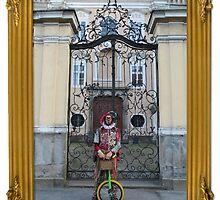Silly Man & his bike by jollykangaroo