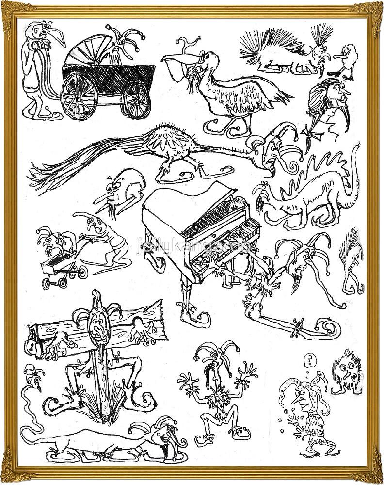 A Fool's Drawings by jollykangaroo