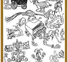 Jester Scribble by jollykangaroo