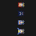 X-Men Pixel by MezzMerritt