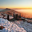 Mam Tor Sunrise by Mat Robinson