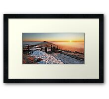Mam Tor Sunrise Framed Print