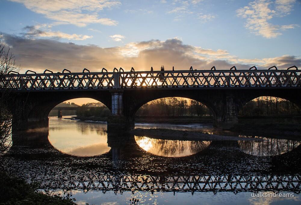 Railway Bridges of Preston by walksindreams