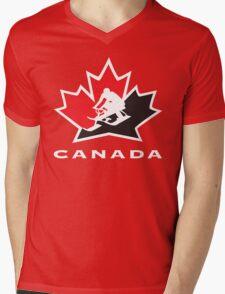Defending Awesome - GT Snowracer Canada Mens V-Neck T-Shirt