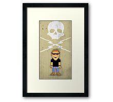 Death Proof Pixel Framed Print