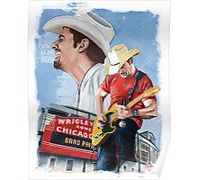 Brad Paisley Poster