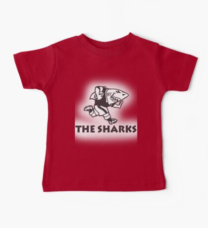 NATAL SHARKS FOR LIGHT SHIRTS SOUTH AFRICA RUGBY SUPER RUGBY Baby Tee
