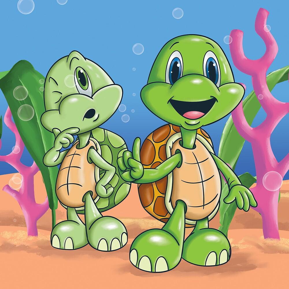 Turtles by tsantiago