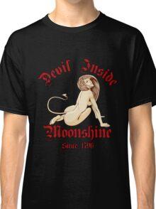 Sexy Devil Inside Moonshine Classic T-Shirt