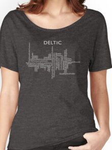 Deltic Names and Numbers Women's Relaxed Fit T-Shirt