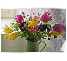 Flowers In The Window Poster