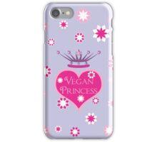 Vegan Princess iPhone Case/Skin