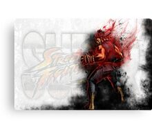 Super Street Fighter 4 - Raging Demon Canvas Print