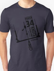 Power 34 Knots Kitesurfing Light Unisex T-Shirt